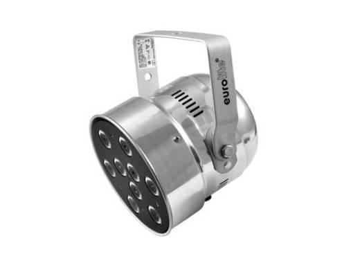 LED-PAR-Scheinwerfer Eurolite LED PAR-56 QCL Anzahl LEDs: 9 x 8 W Silber