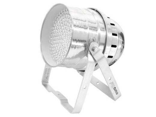 LED-PAR-Scheinwerfer Eurolite LED-RGB-DMX Anzahl LEDs: 182 x Silber