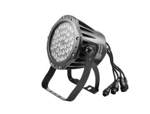 Outdoor LED-Spot Eurolite LED IP PAR 36x1W RGB Anzahl LEDs: 36 x 1 W