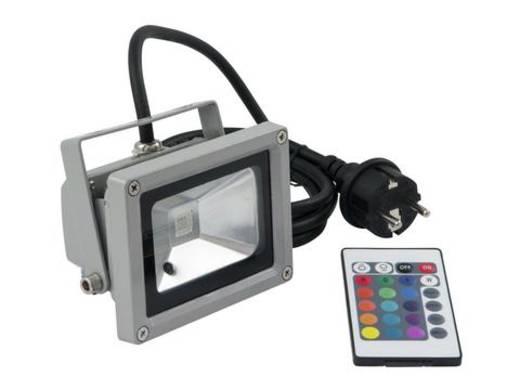 Outdoor LED-Spot Eurolite LED IP FL-10 Anzahl LEDs: 1 x 10 W