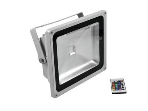 Outdoor LED-Spot Eurolite LED IP FL-50 Anzahl LEDs: 1 x 50 W