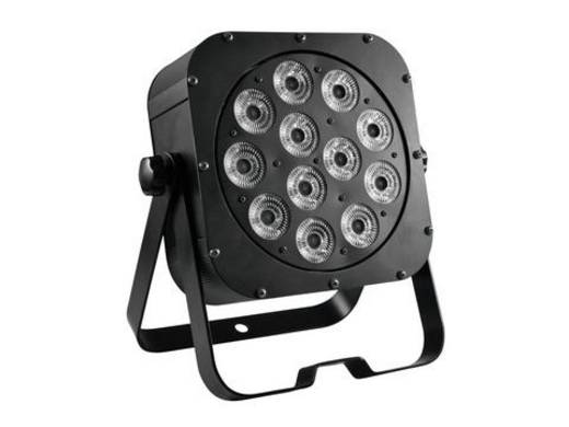LED-Pinspot Eurolite LED SLS-12 Anzahl LEDs: 12 x 6.25 W Schwarz
