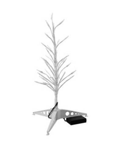 LED-Baum 80 cm Kalt-Weiß Europalms Design-Baum mit LED kw 80cm 83330340 Weiß
