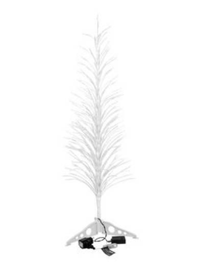 LED-Baum 120 cm Kalt-Weiß Europalms Design-Baum mit LED kw 120cm 83330342 Weiß
