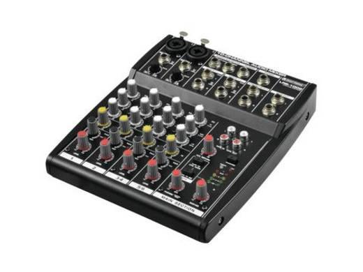 Konsolen-Mischpult Omnitronic LRS-1002 Anzahl Kanäle:10