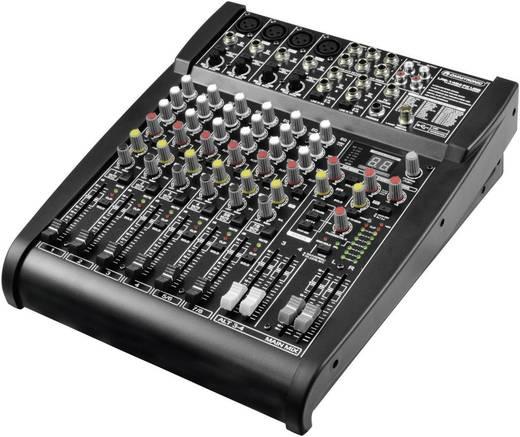 Konsolen-Mischpult Omnitronic LRS-1424FX Anzahl Kanäle:8 USB-Anschluss