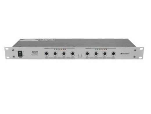 19 Zoll Mischpult Omnitronic SD-28 Anzahl Kanäle:2