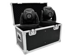 Case (kufr) Eurolite 31001060, (d x š x v) 340 x 660 x 370 mm, černostříbrná