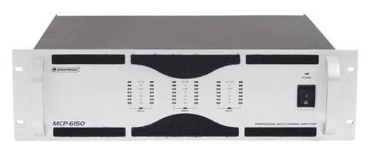 PA Verstärker Omnitronic MCP-6150 RMS Leistung je Kanal an 4 Ohm: 150 W