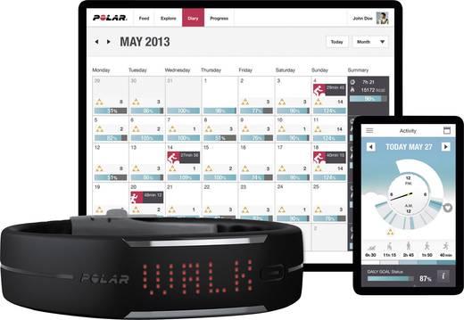 Fitness-Tracker Polar Loop Activity Tracker Größe=Uni Schwarz