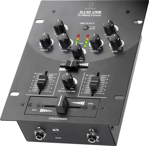 DJ Mixer Renkforce DJ10+USB