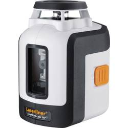 Krížový laser samonivelačná, vr. statívu Laserliner SmartLine-Laser 360° Bonus Set, Dosah (max.): 20 m, Kalibrované podľa: ISO