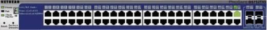 Netzwerk Switch RJ45/SFP Netgear GS752TXS 48 + 4 Port 1 GBit/s PoE-Funktion