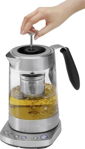 Kaffee-/Teemaschine Profi Cook PC-WKS 1020 G Edelstahl, Glasklar