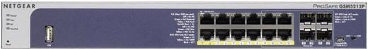 Netzwerk Switch RJ45/SFP Netgear GSM5212P-100NES 12 + 4 Port 1 Gbit/s PoE-Funktion
