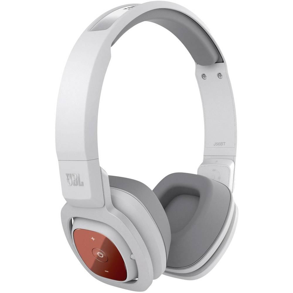 Bluetooth® Hi-Fi Headphone JBL Harman J56BT WHT On-ear Foldable, Headset White From Conrad.com