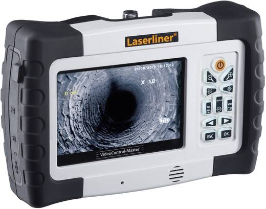 Endoskop-Grundgerät Laserliner 084.100A TV-Ausgang, SD-Karten Slot, LED-Beleuchtung, Autoabschaltung, Bild-Funktion, V