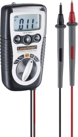 Hand-Multimeter digital Laserliner MultiMeter-Pocket Auto Kalibriert nach: ISO CAT III 1000 V Anzeige (Counts): 2000