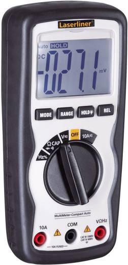Hand-Multimeter digital Laserliner MultiMeter-Compact Auto Kalibriert nach: DAkkS CAT IV 600 V Anzeige (Counts): 4000