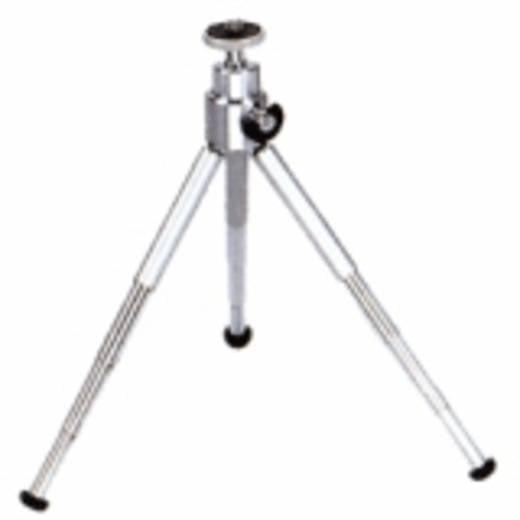 Ministativ Walimex WT-070 1/4 Zoll Arbeitshöhe=14.5 - 26.5 cm Silber