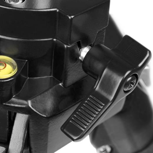 Dreibeinstativ Walimex WAL-666 1/4 Zoll Arbeitshöhe=64 - 161 cm Silber inkl. Tasche