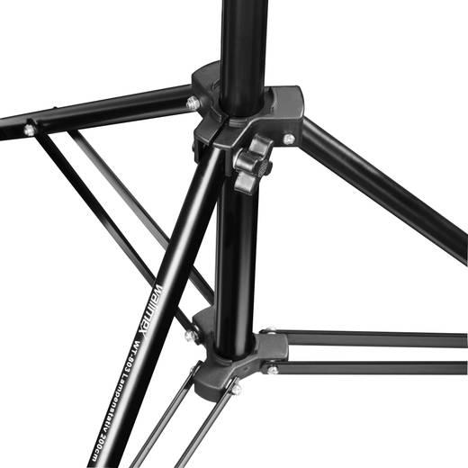 Lampenstativ Walimex Pro Arbeitshöhe= 71 - 200 cm inkl. Tasche