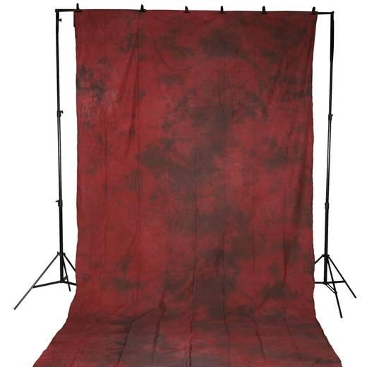 Stoffhintergrund Walimex (L x B) 5.8 m x 2.8 m Rot