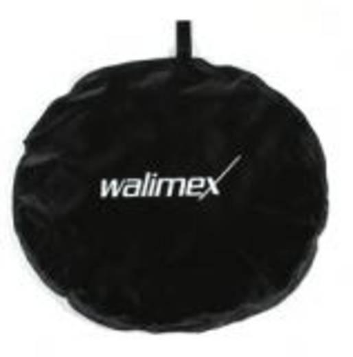 Falthintergrund Walimex (L x B) 200 cm x 150 cm Schwarz