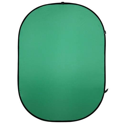 Falthintergrund Walimex (L x B) 200 cm x 150 cm Grün