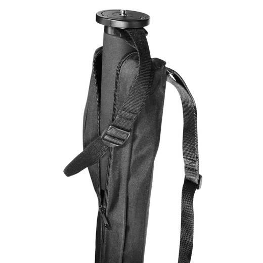 Einbeinstativ Walimex 14775 1/4 Zoll Arbeitshöhe=51 - 177 cm Schwarz inkl. Tasche
