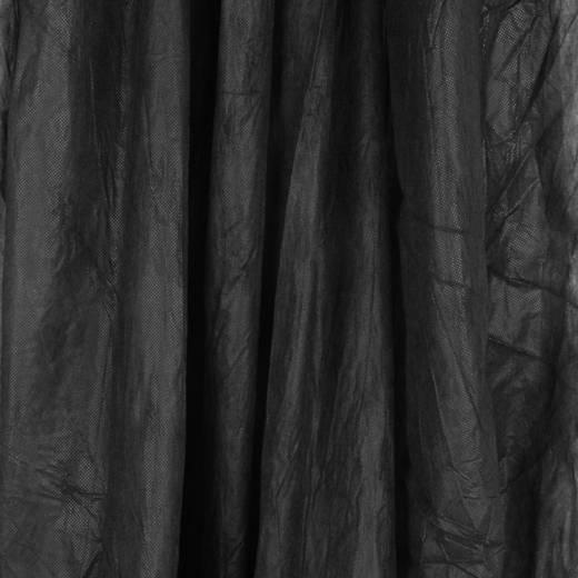 Stoffhintergrund Walimex (L x B) 6 m x 3 m Schwarz