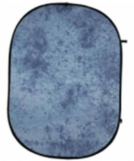 Falthintergrund Walimex (B x H) 146 cm x 200 cm Blau