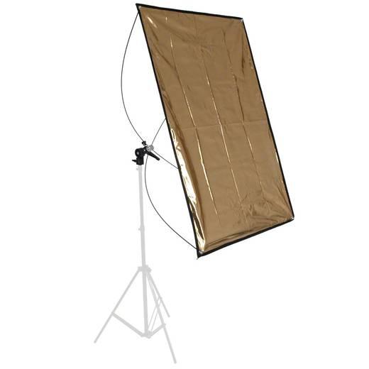 walimex Reflektorpanel silber/gold, 90x180cm