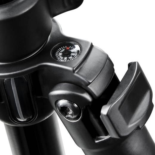 Dreibeinstativ Walimex FT-6662BT 1/4 Zoll Arbeitshöhe=38 - 140 cm Schwarz inkl. Tasche
