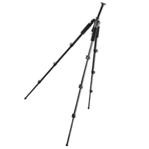Dreibeinstativ Walimex 15755 1/4 Zoll Arbeitshöhe=38 - 171 cm Dunkel-Grau inkl. Tasche