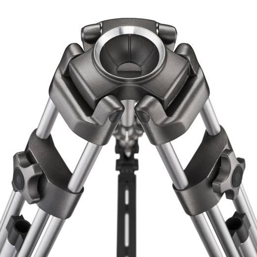 Dreibeinstativ Walimex Pro FT-9902 1/4 Zoll, 3/8 Zoll Arbeitshöhe=82 - 172 cm Silber inkl. Tasche