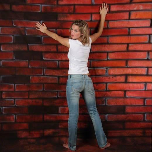 Motiv-Stoffhintergrund Walimex Pro Bricks (L x B) 6 m x 3 m