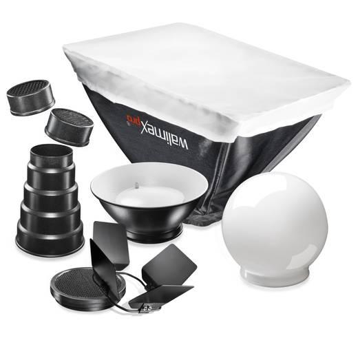 Blitzvorsatz-Set Walimex Pro Blitzvorsätze 6tlg. Nikon SB