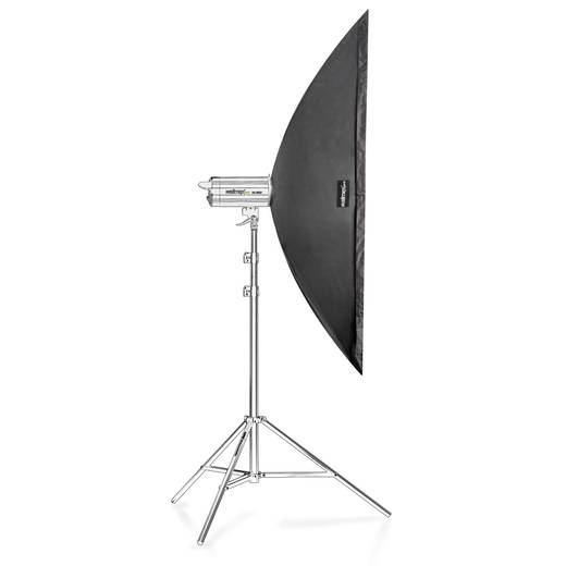 Softbox Walimex Pro Striplight (L x B x H) 50 x 40 x 180 cm 1 St.