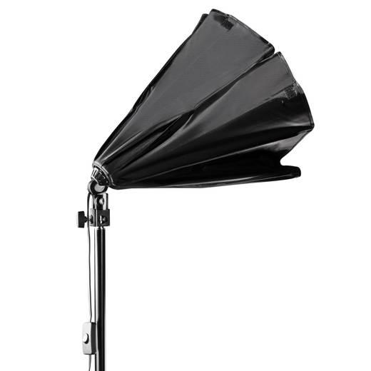 Fotolampe Walimex Set Daylight 250 + boîte à lumière octogonale, Ø 55cm 50 W