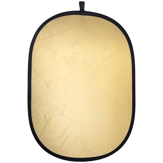 Reflektor Walimex faltbar gold/silber (B x H) 91 cm x 122 cm 1 St.