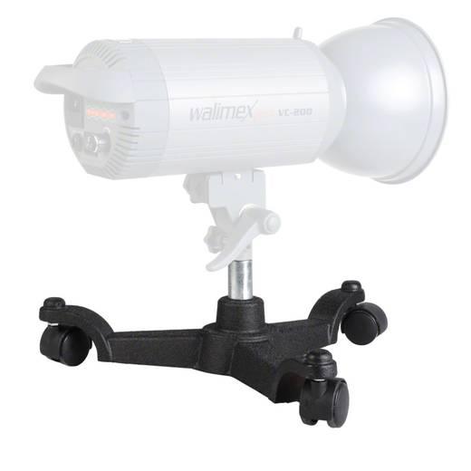 Rollstativ Walimex Arbeitshöhe= 15 cm (max)