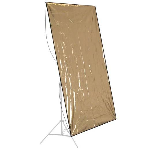 walimex Reflektorpanel silber/gold, 140x210cm