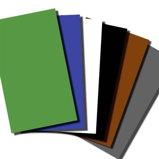 Hintergrundkarton Walimex (L x B) 68 cm x 100 cm Schwarz, Grau, Weiß, Braun, Blau, Grün