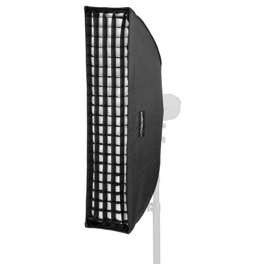 Softbox Walimex Pro Striplight PLUS 25x90cm (L x B x H) 40 x 25 x 90 cm 1 St.