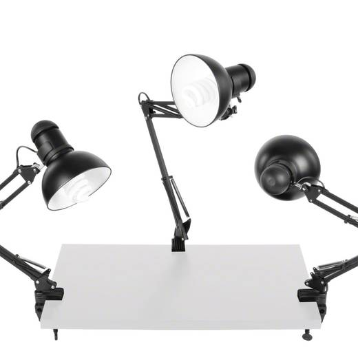 Desktop-Beleuchtungsset Walimex 3er Set Daylights, 3x 25W 25 W