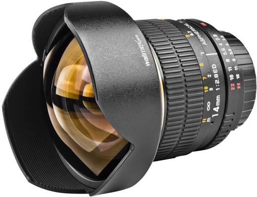 Weitwinkel-Objektiv Walimex Pro 14/2,8 IF pour Nikon f/1 - 2.8 14 mm (min)