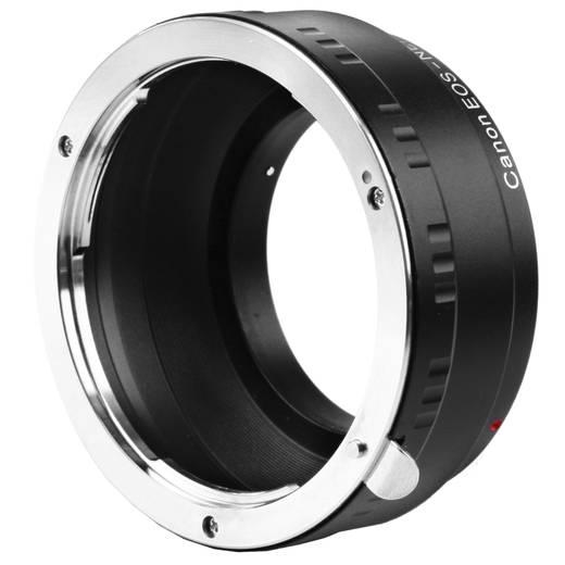 Objektivadapter Walimex Adaptater Canon für Sony E Adaptiert: Canon EF, Canon EF-S, Canon FL - Sony NEX