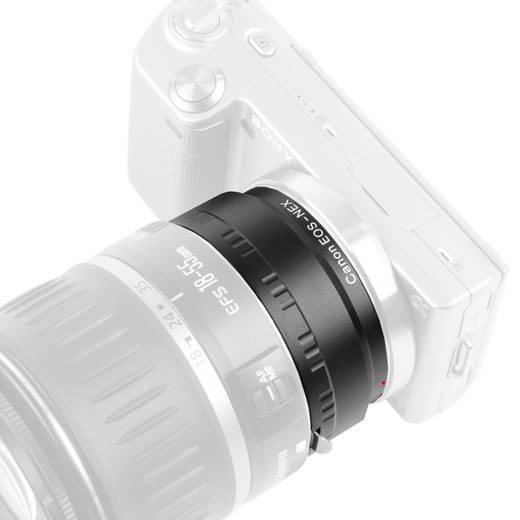 Objektivadapter Walimex Adaptateur Canon sur monture Sony E