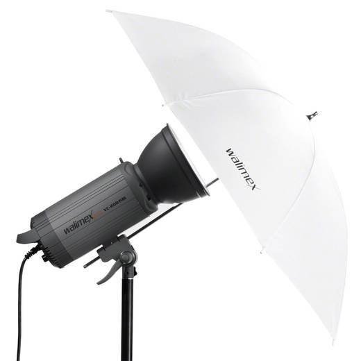 Durchlichtschirm Walimex Pro weiß (Ø) 84 cm 1 St.